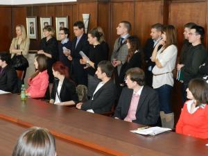 Študentská vedecká konferencia - 2012