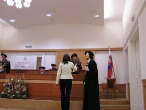 Imatrikulácie študentov prvého ročníka - 2005