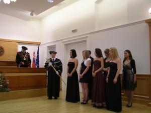 Promócie absolventov - 2009
