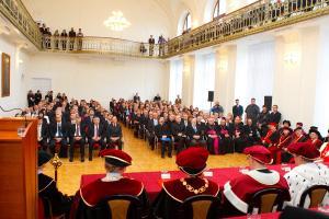 Inaugurácia rektora Trnavskej univerzity v Trnave - 2011