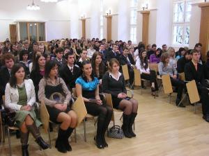 Imatrikulácie študentov prvého ročníka - 2009